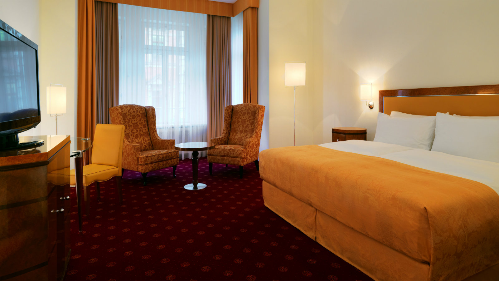 Grand Deluxe rooms at Hotel Fuerstenhof Leipzig