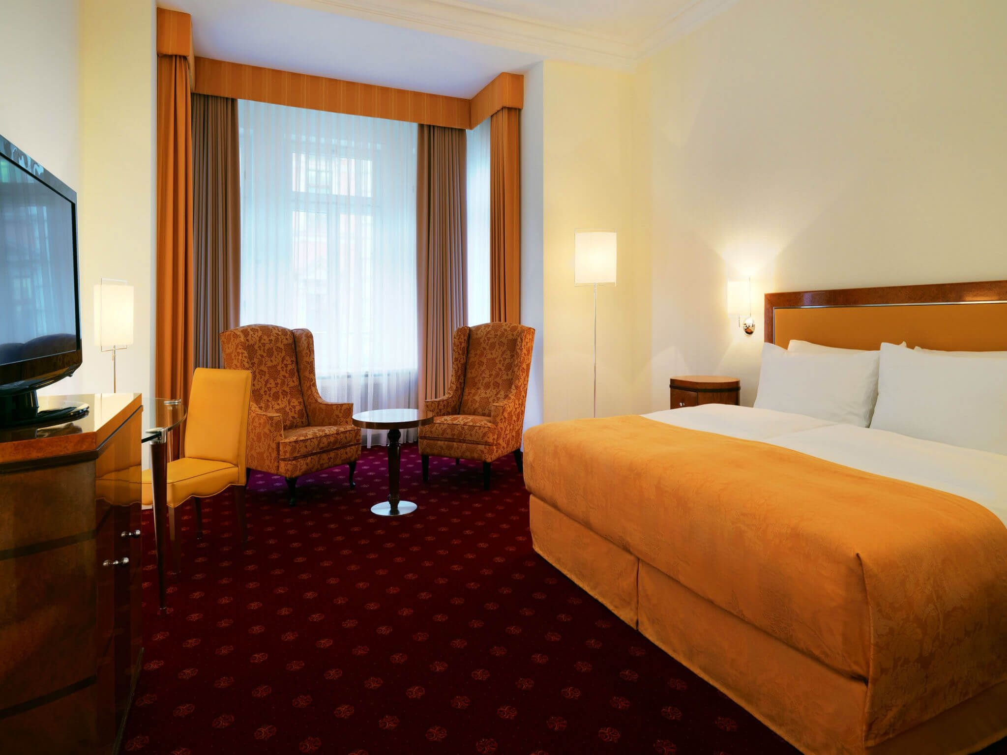 Hotel Leipzig - Grand Deluxe Rooms at Hotel Fürstenhof